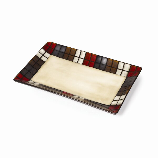 Calico Rectangular Platter by Pfaltzgraff Everyday