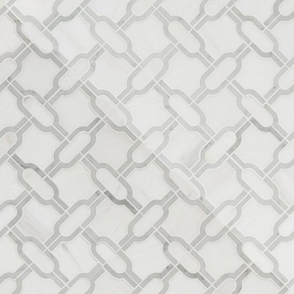 Polished Natural Stone Mosaic Tile