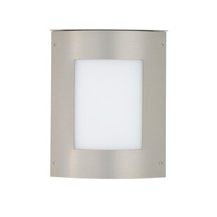 Online Reviews Moto 1-Light Outdoor Flush Mount By Besa Lighting