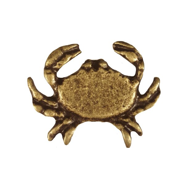 Tropical Sand Crab Novelty Knob by Buck Snort Lodge