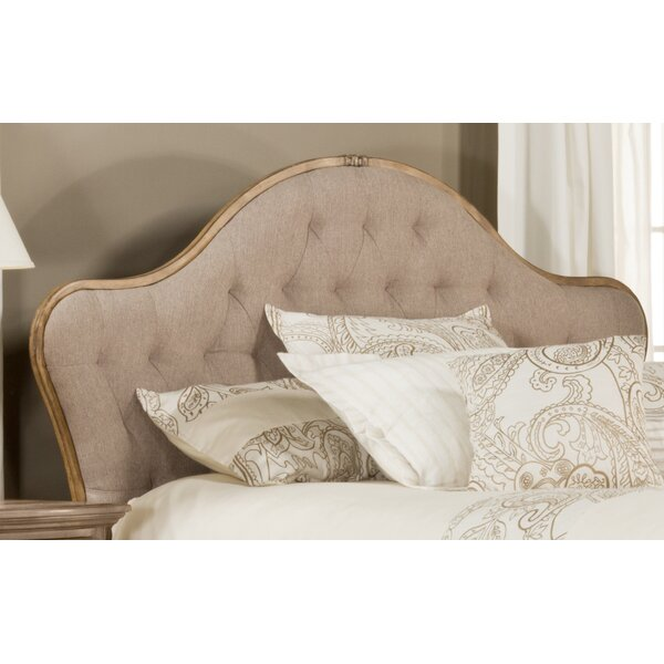Briony French Country Upholstered Panel Headboard by Willa Arlo Interiors