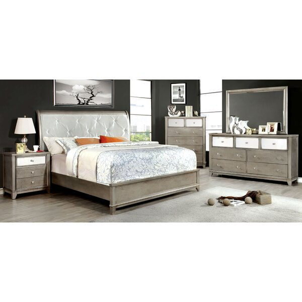 Rogers Platform Configurable Bedroom Set by Willa Arlo Interiors