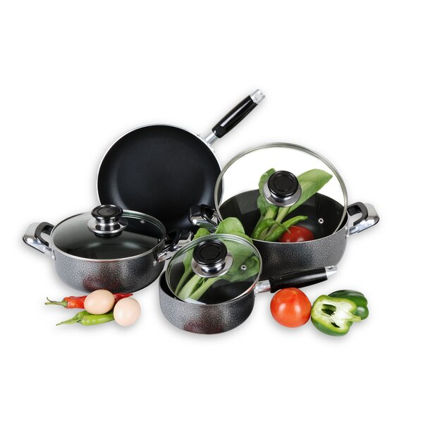 Nonstick 7 Piece Cookware Set II by HDS TRADING CORP