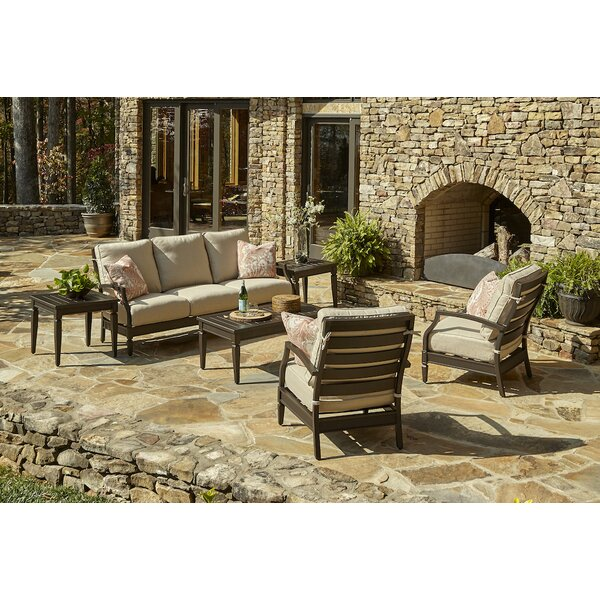Cerissa 6 Piece Sunbrella Sofa Set with Cushions by Klaussner Furniture