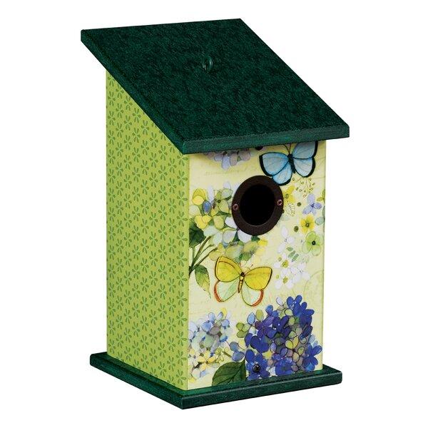 Butterfly Haven Universal 12.25 in x 7 in x 7 in Birdhouse by Studio M