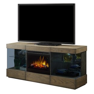 Axel TV Stand for TVs up to 70 with Electric Fireplace