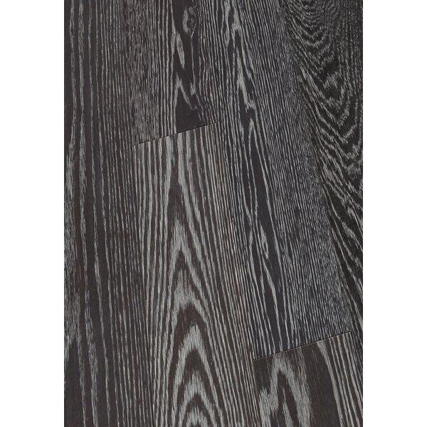 6 Engineered Oak Hardwood Flooring in Brushed Coal by Maritime Hardwood Floors