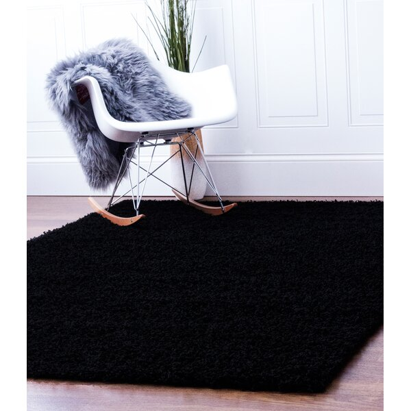 Black Area Rug by Super Area Rugs