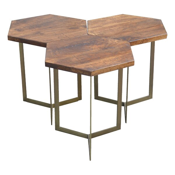 Michiel End Table (Set Of 3) By Union Rustic