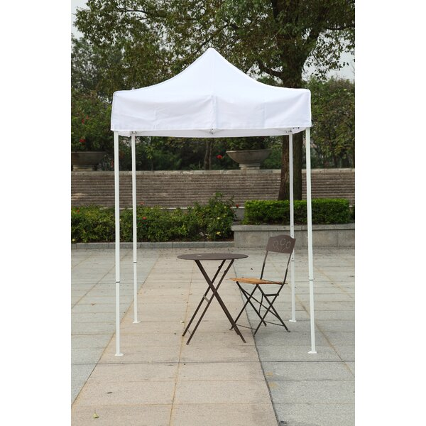 5 Ft. W x 5 Ft. D Steel Pop-Up Canopy by American
