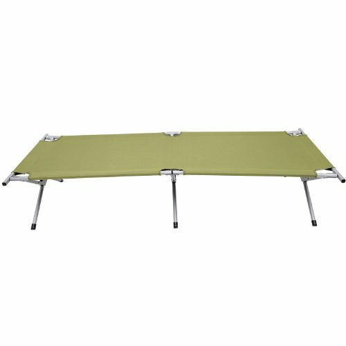 Heavy-Duty Outdoor Folding Military Style Camping Cot by Outsunny