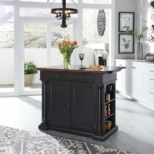 Kamryn Kitchen Island by Darby Home Co