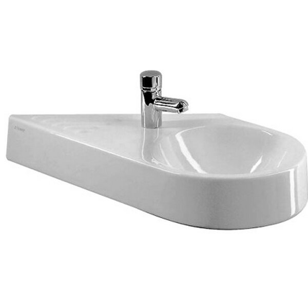 Architec Ceramic 26 Wall Mount Bathroom Sink by Duravit