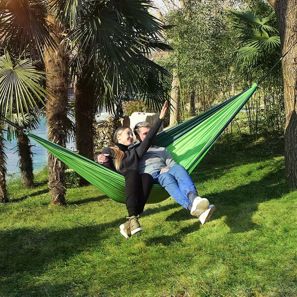 Philip Parachute Camping Double Tree Hammock By Freeport Park