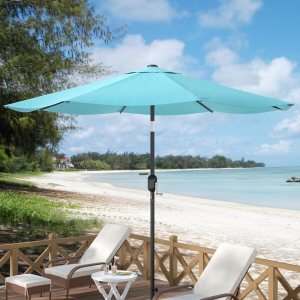 Kelton 10' Market Umbrella by Beachcrest Home
