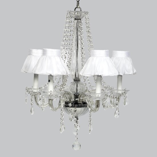 Middleton 6-Light Shaded Chandelier by Jubilee Collection