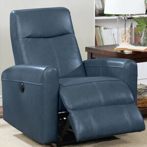 Claredon Living Room Electric Power Wall Hugger Recliner by Red Barrel Studio