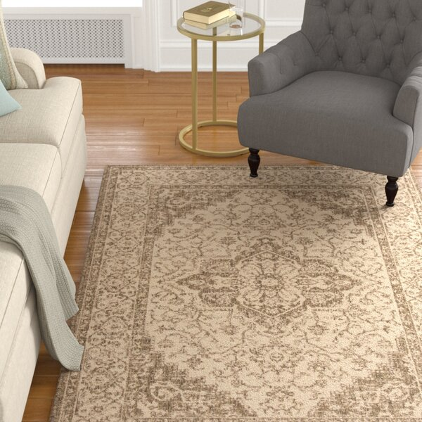 Allie Cream/Beige Area Rug by Astoria Grand