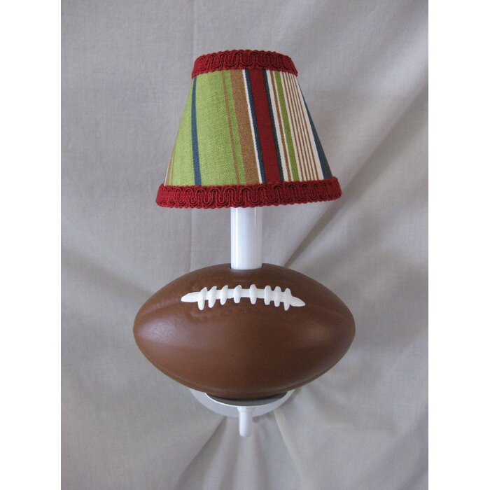 Silly bear all star sports football 1 light candle wall light all star sports football 1 light candle wall light mozeypictures Images