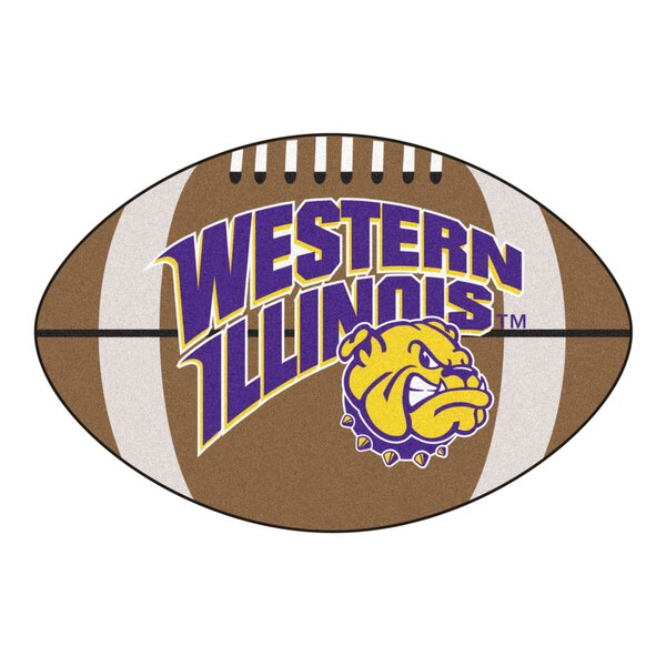 NCAA Western Illinois University Football Mat by FANMATS