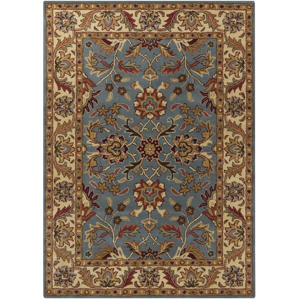 Bartz Blue Area Rug by Darby Home Co