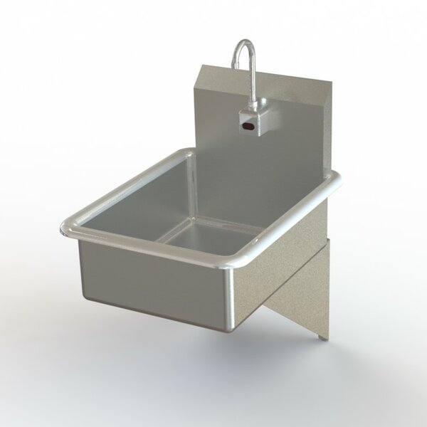 NSF 19 x 25 Wall Mounted Handwash Station with Faucet by Aero Manufacturing