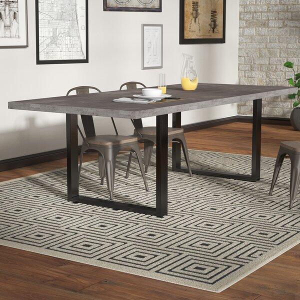 Carnarvon Concrete Dining Table by Trent Austin Design Trent Austin Design