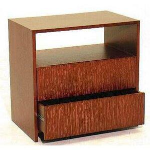 Garis 2 Drawer Nightstand by Indo Puri