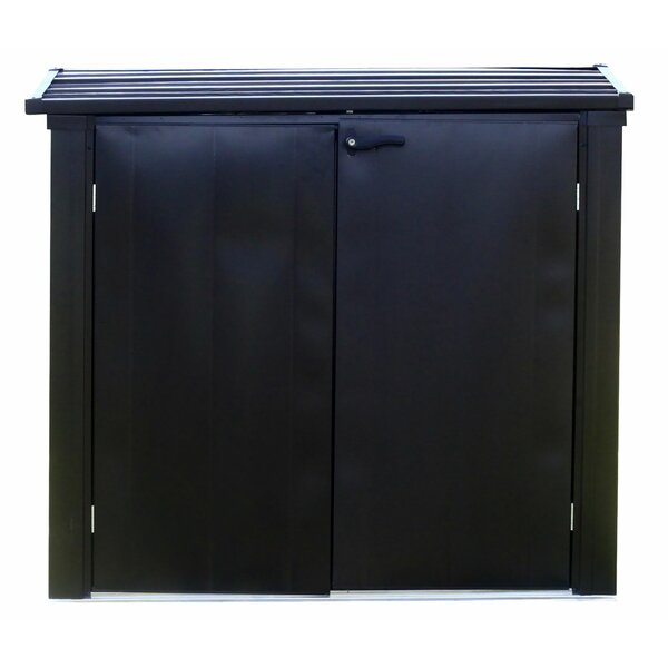 Versa Shed Locking 5 ft. W x 3 ft. D Metal Horizontal Garbage Shed by Arrow