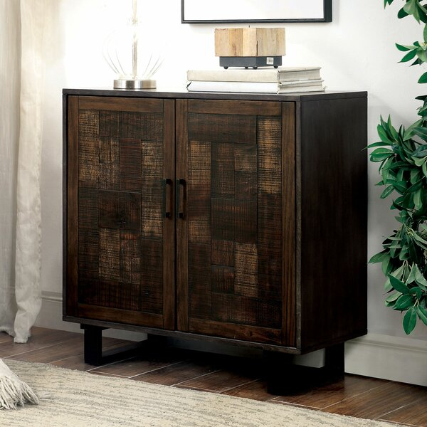Quickep Hallway 2 Door Accent Cabinet by Union Rustic