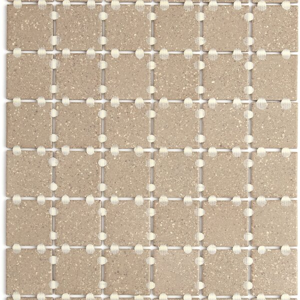 Dalton 12 x 24 Porcelain Mosaic Tile in Tan Speckle by Itona Tile