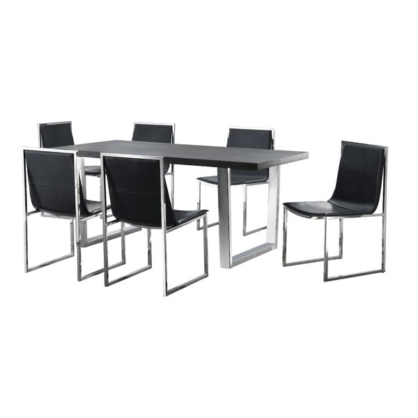 Fresh Revere 7 Piece Dining Set By Orren Ellis Cheap
