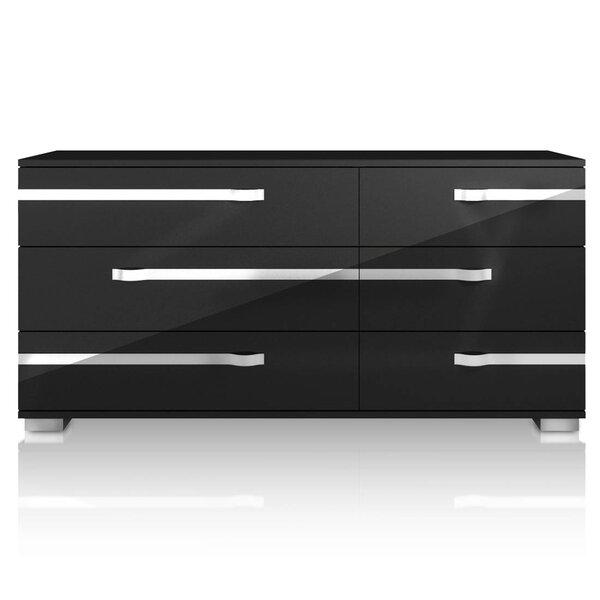 Salerno 6 Drawer Double Dresser by Brayden Studio