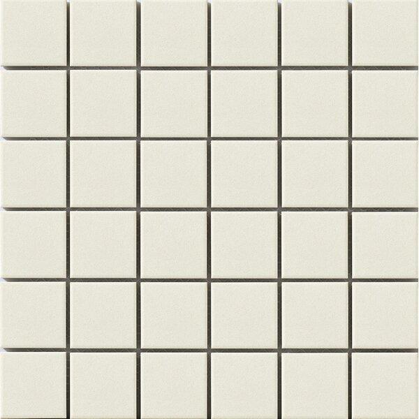 Urban 2 x 2 Porcelain Mosaic Tile in  Off-White by Walkon Tile
