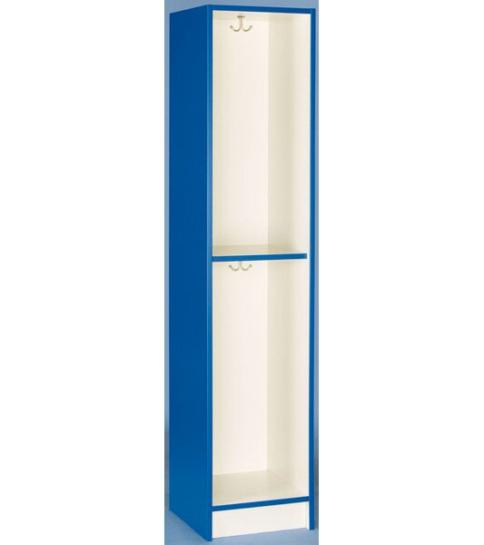 2 Tier 1 Wide Coat Locker by Stevens ID Systems