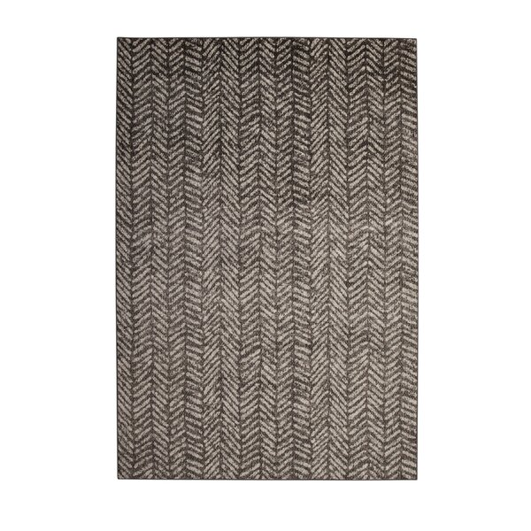 Lynnae Ivory/Brown Area Rug by 17 Stories