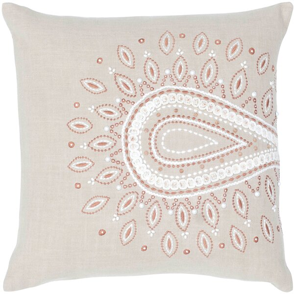 Charlette Cotton Throw Pillow by Wildon Home ®