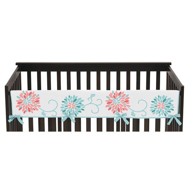 Emma Long Crib Rail Guard Cover by Sweet Jojo Designs