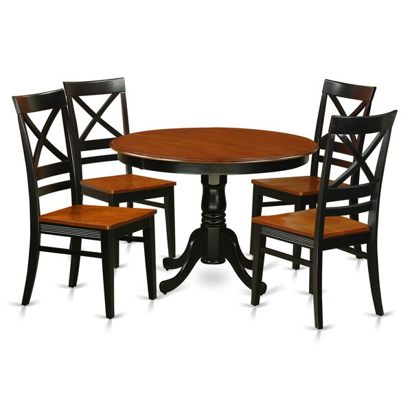 Artin 5 Piece Dining Set by Andover Mills Andover Mills