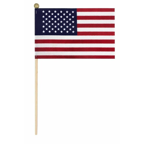 American Stick Cotton 4 x 6 in. Rectangle Flag by U.S. Flag Store