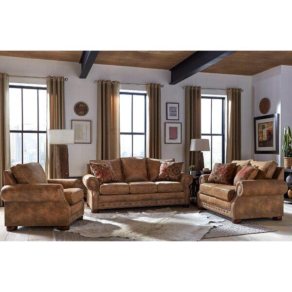 Gabrielle 3 Piece Sleeper Living Room Set By Loon Peak®