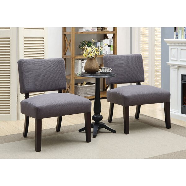 Gerow  3 Piece Slipper Chair Set by Ebern Designs