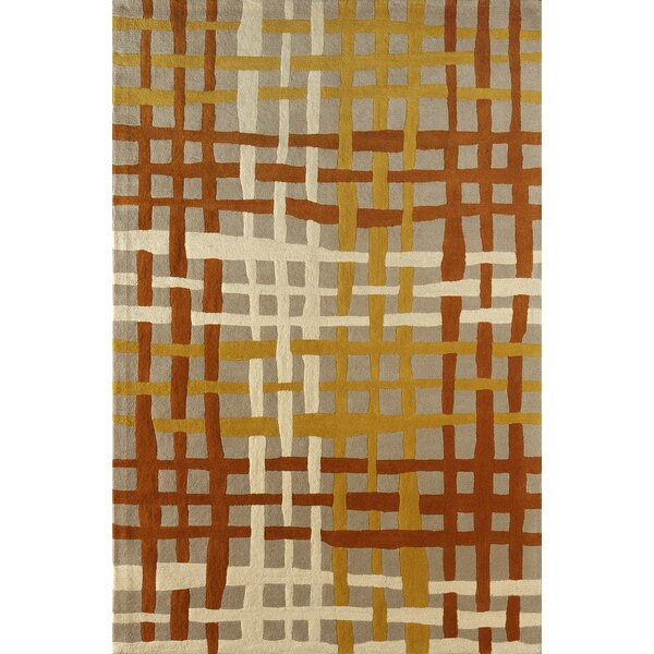 Courtney Hand-Tufted Sorrel Area Rug by Latitude Run