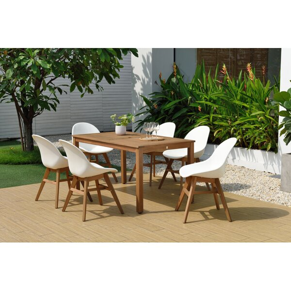 Onamia 7 Piece Dining Set by Wrought Studio