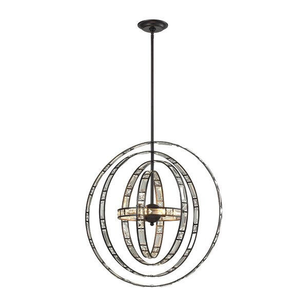 Knauer 6-Light Candle Style Globe Chandelier by Latitude Run Latitude Run