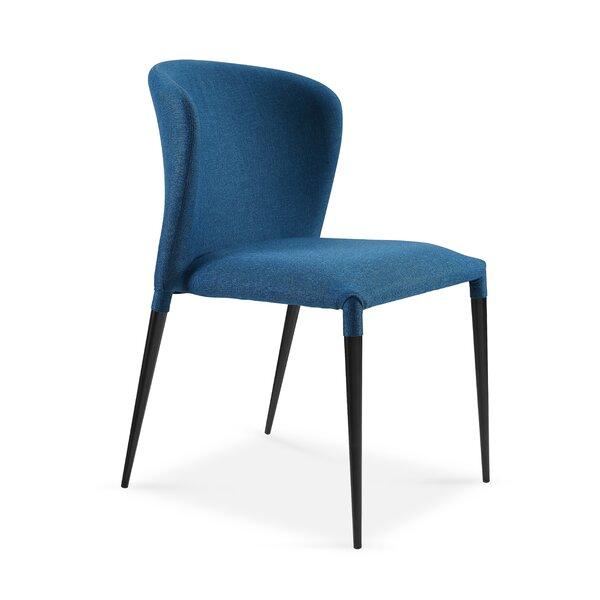 Shingleton Upholstered Dining Chair (Set of 4) by Orren Ellis Orren Ellis