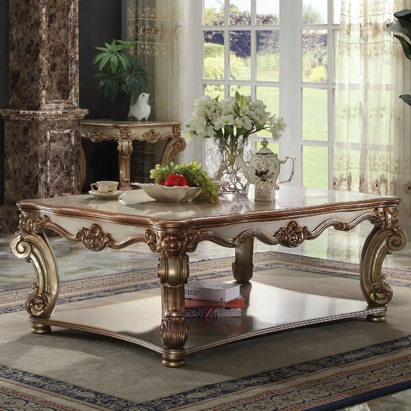 Welles Traditional Coffee Table by Astoria Grand Astoria Grand