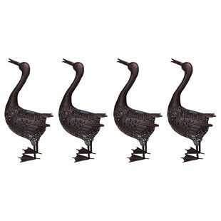 Hammer Duck 3 Light LED Pathway Light (Set of 4) (Set of 4) By Oakland Living Outdoor Lighting