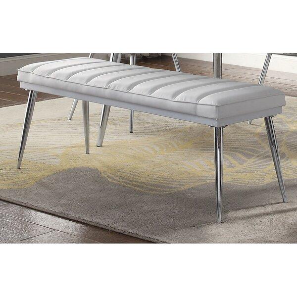 Visalia Upholstered Bench By Orren Ellis