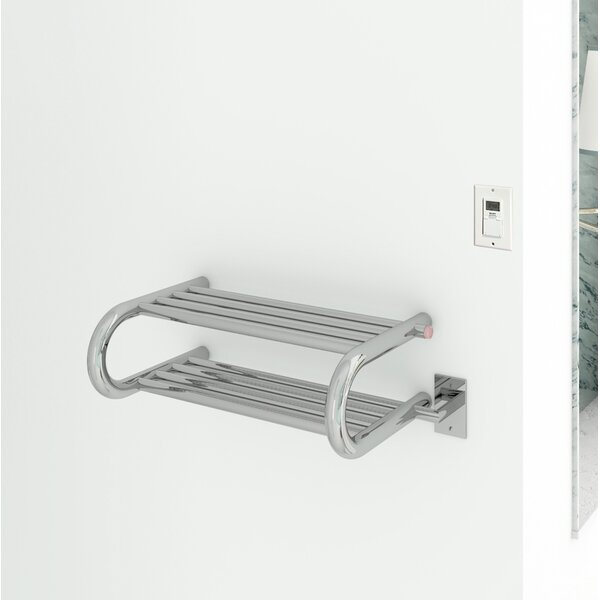Essential Wall Mounted Electric Towel Warmer with Timer by Ancona